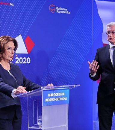 """Debata Kidawa-Błońska - Jaśkowiak. """"Wyższy wiek emerytalny jest dobry"""""""