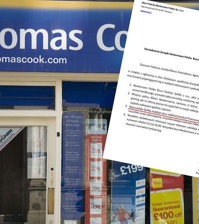 Thomas Cook zbankrutował. Neckermann uspokaja swoich klientów