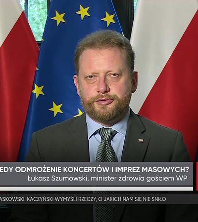 Szumowski: w ciągu dwóch tygodni decyzja w sprawie imprez masowych