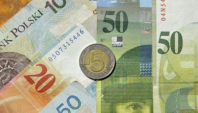Kursy walut. Dane ze strefy euro negatywne dla złotego