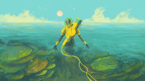 Ksenobiologia w oceanie pełnym kosmicznych niesamowitości