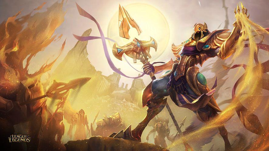 Azir wygląda jak egipski bóg albo... Protoss. Jest nowym czempionem, który trafi do League of Legends