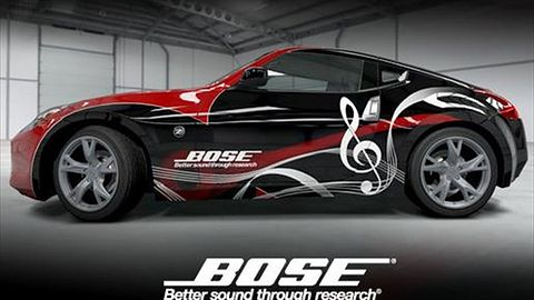 Forza 4: Zgarnij Nissana 370z wymalowanego przez firmę Bose