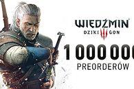 Ponad milion przedpremierowych zamówień na Wiedźmin 3: Dziki Gon