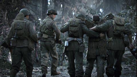 Kampania Call of Duty WW2 - mógł być reboot drugowojennych FPS-ów, jest ich remaster