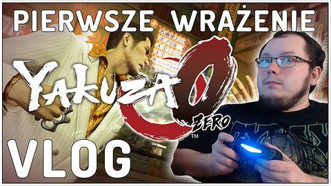 Yakuza 0 pierwsze wrażenia - VLOG