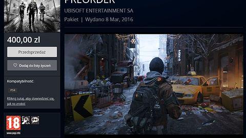 Przed premierą PS4 baliśmy się, że cyfrowe gry będą kosztowały nawet 300 zł. Teraz chciałbym, żeby te 300 zł było górną granicą