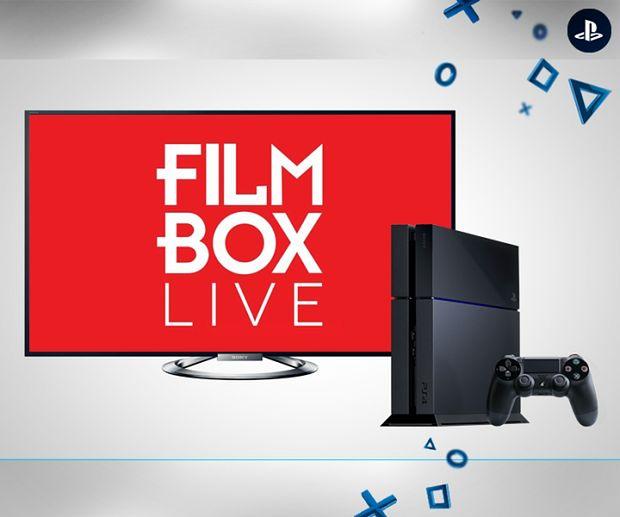 Filmbox Live kolejną aplikacją VOD na PS4