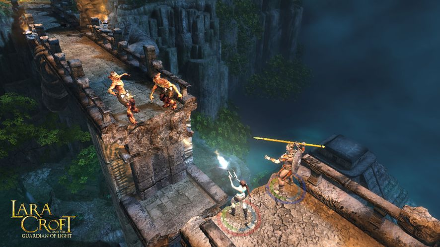 Bardzo wybuchowy zwiastun Lara Croft and the Guardian of Light