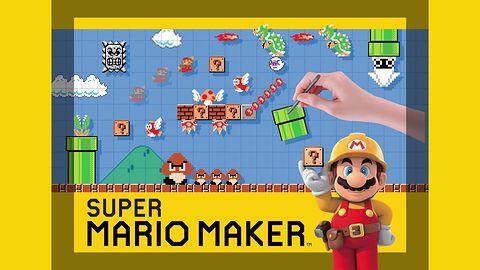 Super Mario Maker atakuje nostalgią