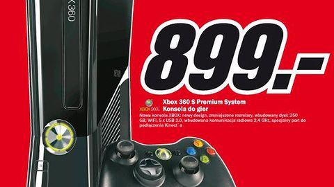 Promocja: Xbox 360 Slim za 899zł w Media Markt [AKTUALIZACJA]