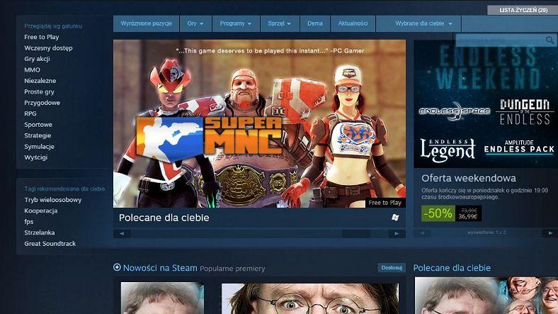 Pełna wersja Steama dopiero po wydaniu 5$? Valve wprowadza ograniczenia dla graczy, którzy nie kupują w ich sklepie.