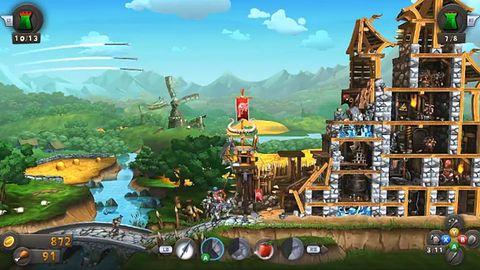 Gdyby Angry Birds połączyć z MOBA i zmienić dekoracje, wyszłoby CastleStorm