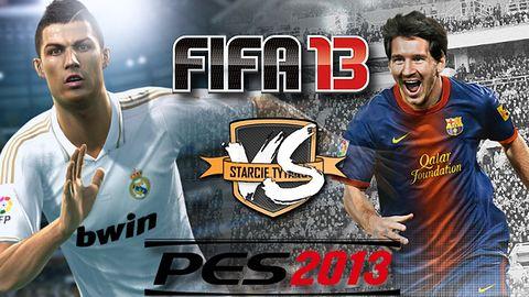 FIFA 13 vs PES 2013 - Starcie Tytanów rozstrzygnięte [WYNIKI]