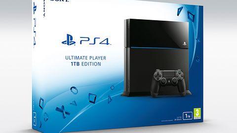 PlayStation 4 z dyskiem twardym 1TB wyląduje w lipcu