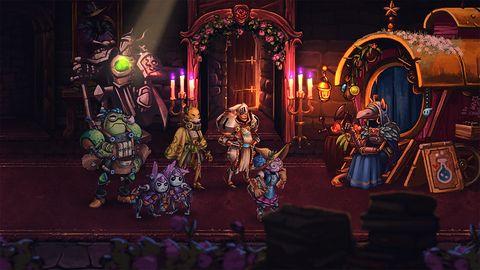 Steamworld Quest wyjdzie na PC... jeszcze przed końcem maja!