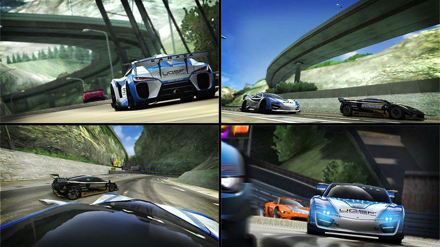 Ridge Racer dla PS Vita wygląda niesamowicie
