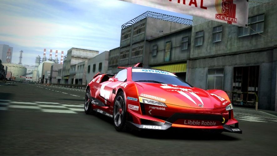 Ridge Racer w wersji na PS Vita [Galeria]
