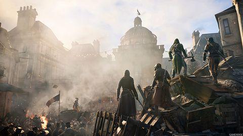 Kooperacyjny zwiastun Assassin's Creed: Unity kooperacji za bardzo nie pokazuje
