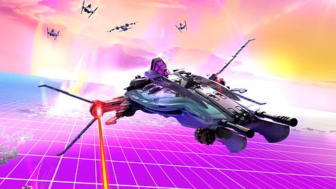 Gramy w Nighthaw-X3000, nową grę Nikodema Szewczyka [wideo]