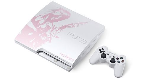 Sony ujawnia białe PS3 Slim w zestawie z Final Fantasy XIII