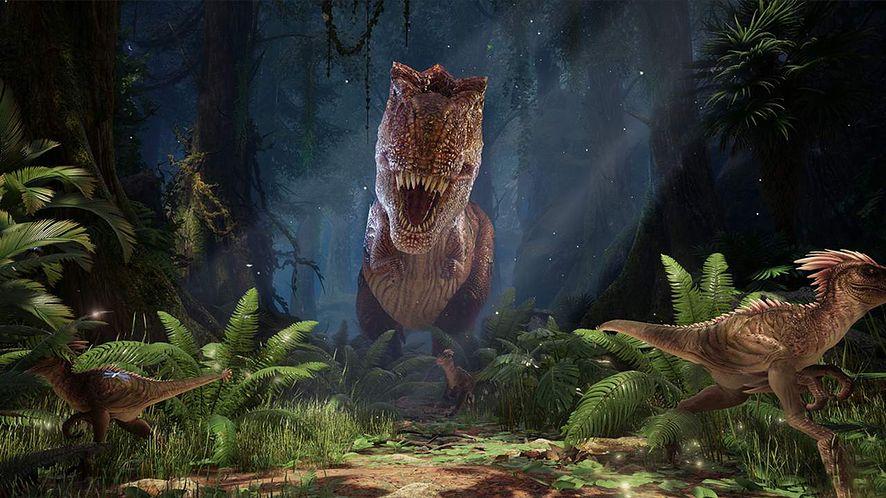 Już w przyszłym roku dinozaury wrócą do życia za sprawą wirtualnego pARKu jurajskiego