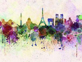 Francja - kolorowanka