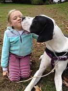 Bella i jej pies George