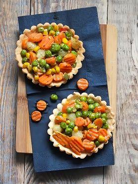 Pomysł na tartaletki warzywne dla dzieci