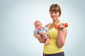 Ćwiczenia aerobowe - szybki sposób, aby zgubić ciążowe kilogramy