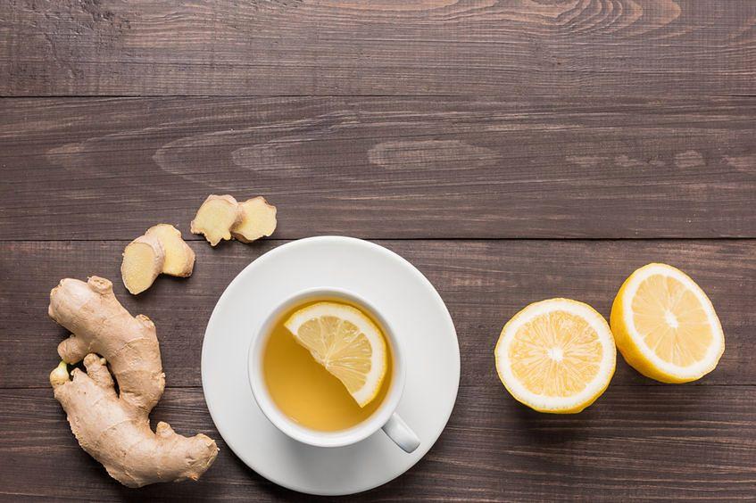 Napar z cytryny i imbiru