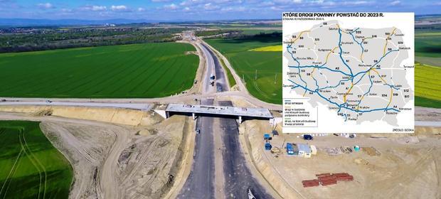 Unijny budżet na budowę dróg wykorzystany w połowie
