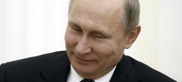 Prezydent Rosji nie mógł powstrzymać śmiechu