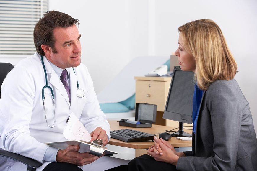 Milczenie, gdy lekarz mówi niezrozumiale