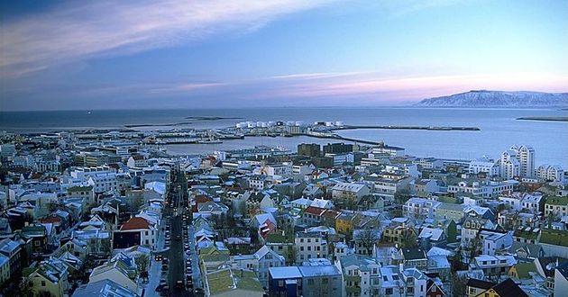 Reykjavik, stolica Islandii