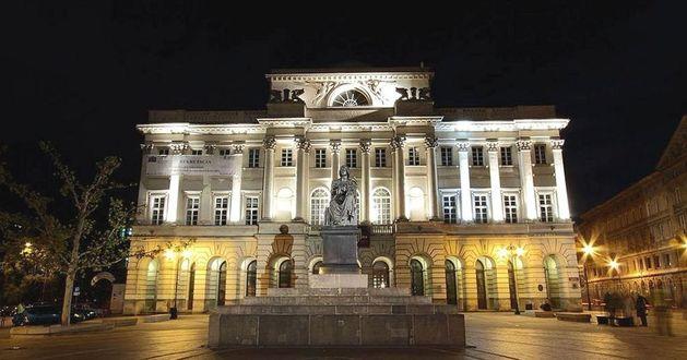 Pałac Staszica w Warszawie - siedziba Instytutu Nauk Ekonomicznych PAN</br>