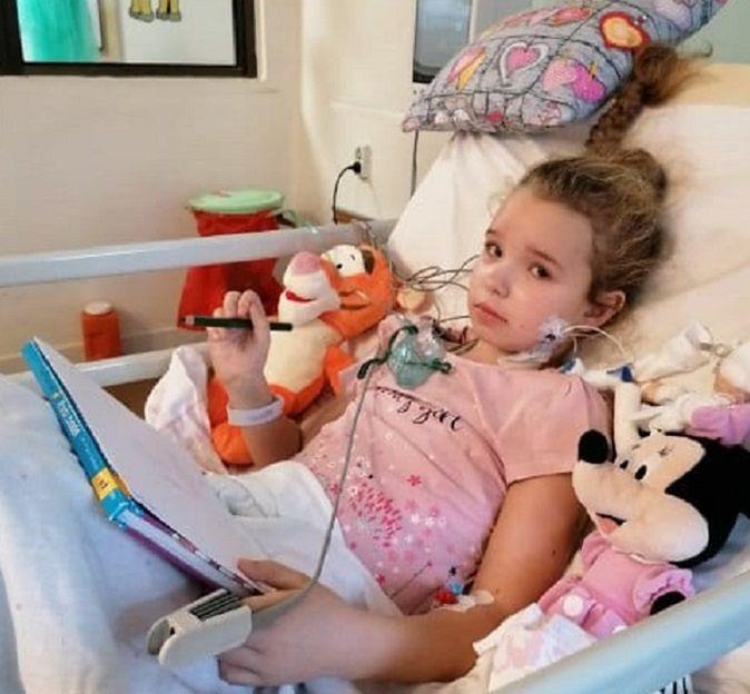 8-letnia Zuzia trafiła do szpitala w ciężkim stanie z powodu PIMS