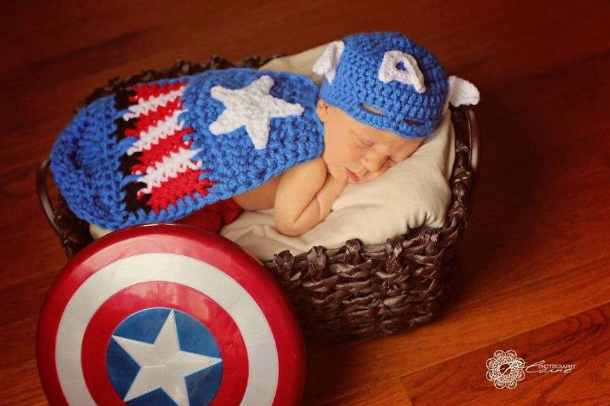 Mały Kapitan Ameryka