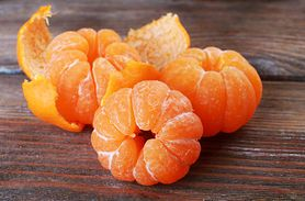 Właściwości skórki mandarynki