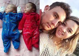 Bliźnięta urodziły się po czterech miesiącach od śmierci matki