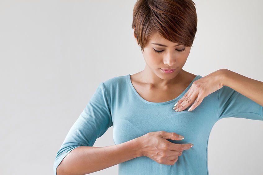 Jednym z nietypowych objawów raka piersi są zmiany skórne