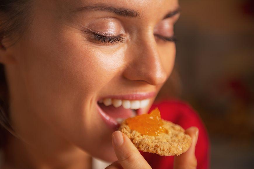Organiczne ciasteczka i krakersy