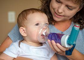 Astma u niemowlaka