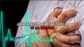 Zatrzymaj atak serca w 60 sekund (WIDEO)