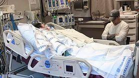 Młoda kobieta ze wstrząsem toksycznym. Straciła kończyny i walczy o życie (WIDEO)