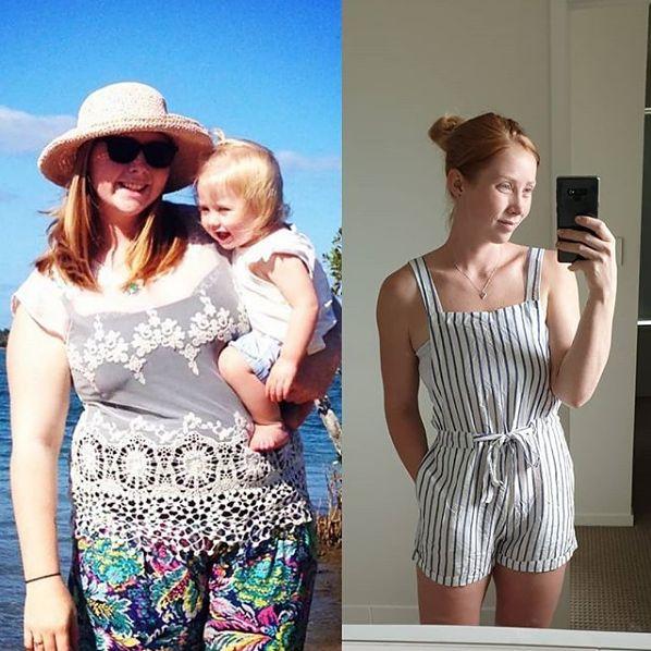 Schudła po ciąży [instagram.com]