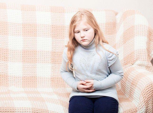 Ból brzucha u dziecka