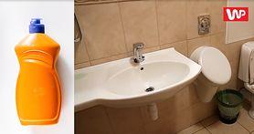 Płyn do mycia naczyń na zatkaną toaletę lub zlew (WIDEO)