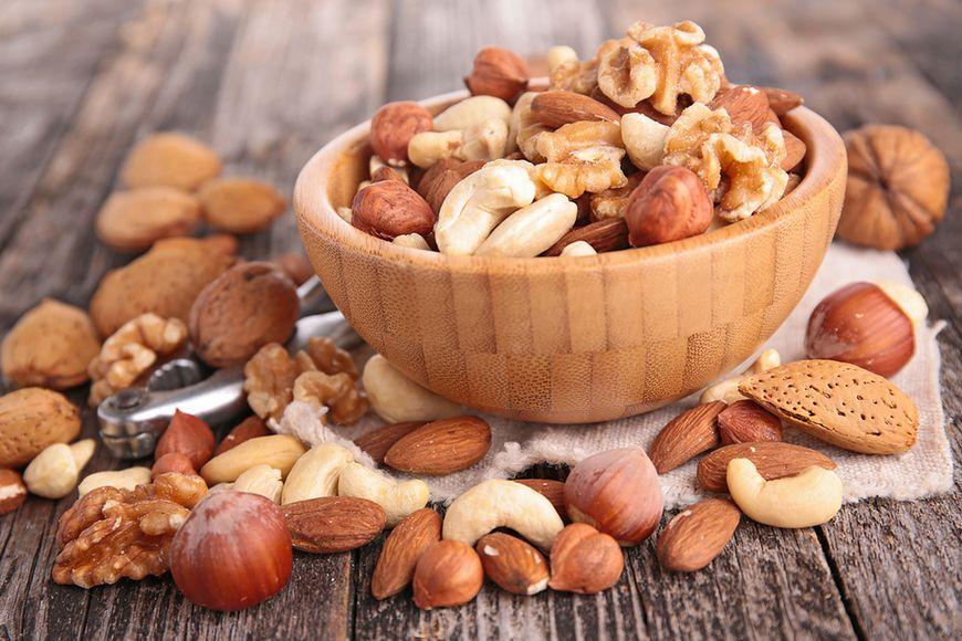 Orzechy, nasiona i suszone owoce