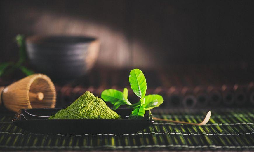 Zielona herbata ma silne działanie oczyszczające